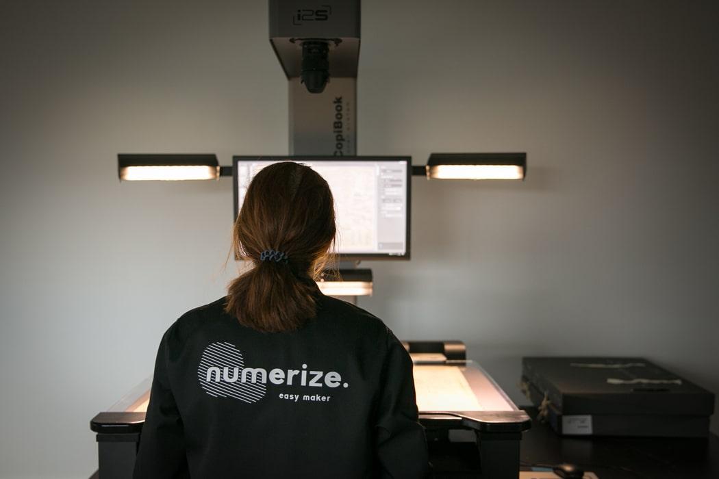 Numérisation de documents tous formats